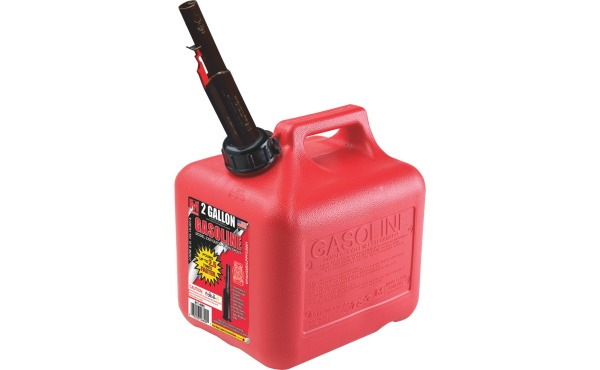 Midwest Can 2 Gal. Plastic Gasoline Fuel Can